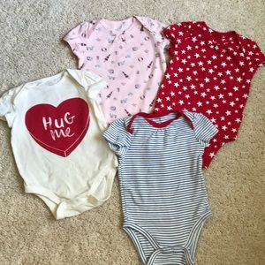 Bundle of Gap onesies